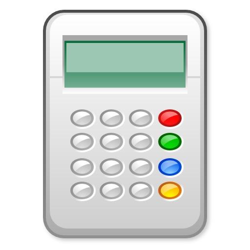 Icone de calculatrice