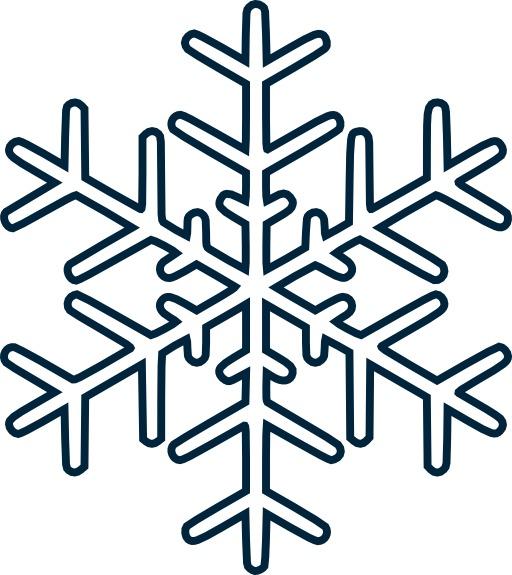 Icone de cristal de glace