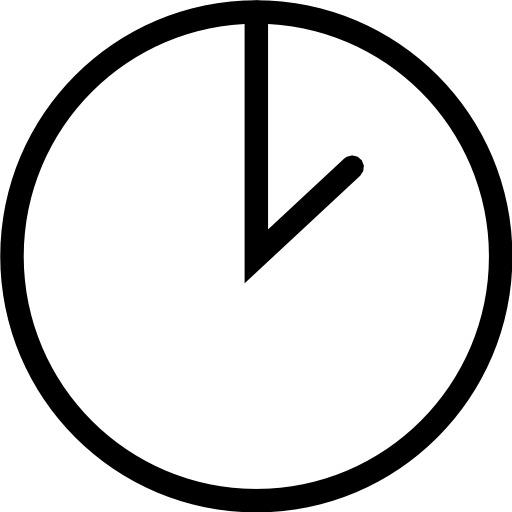 Il est 2 heures à l'horloge