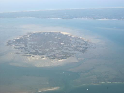 Île aux Oiseaux dans le Bassin d'Arcachon