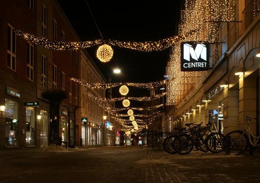 Illuminations de Noël au Danemark