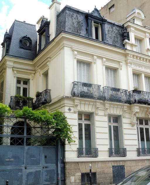 Immeuble art déco à Paris
