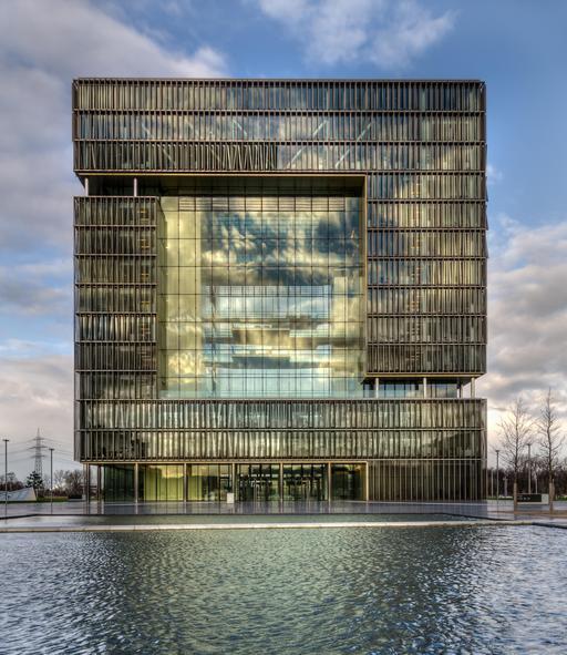 Immeuble de Thyssen-Krupp à Essen en Allemagne