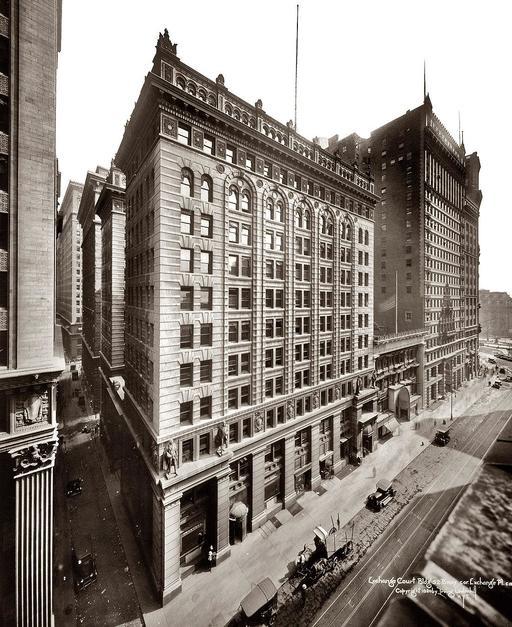 Immeuble new yorkais en 1920