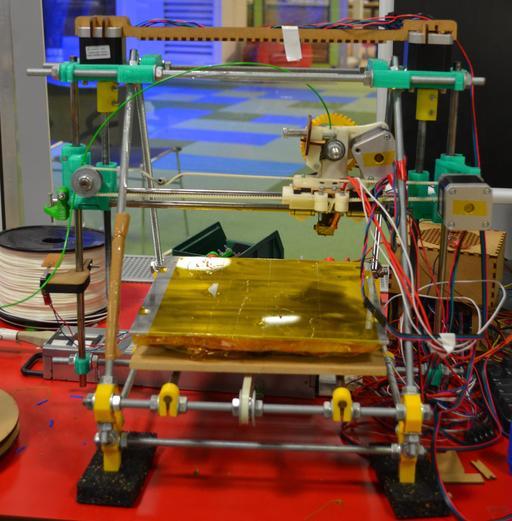 Imprimante 3D à la cité des sciences