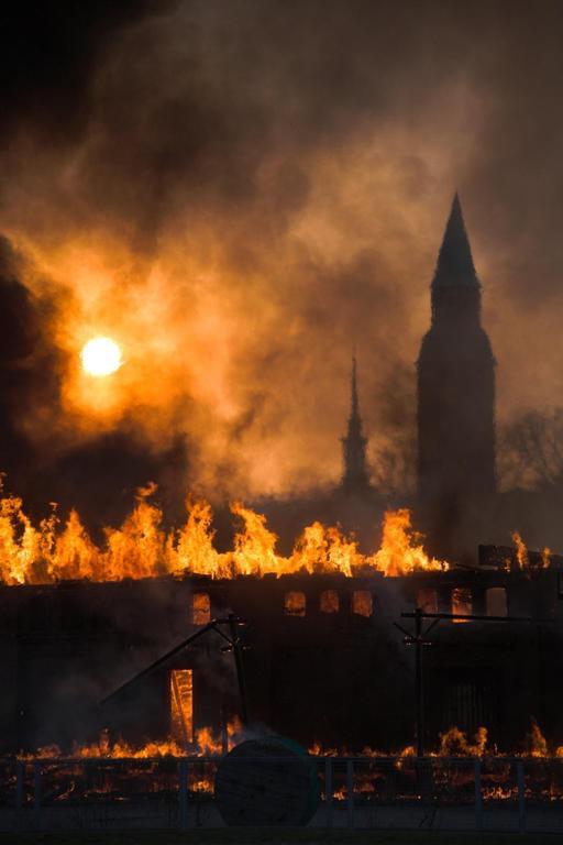 Incendie à Helsinki