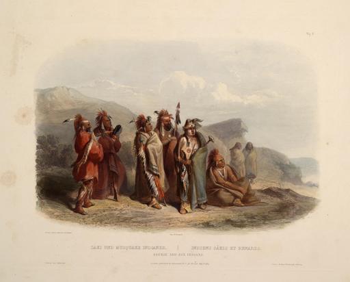 Indiens Sakis et Meskawkis
