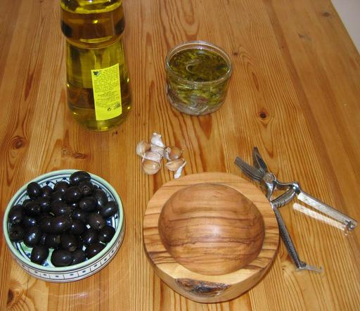 Ingrédients de l'anchoïade