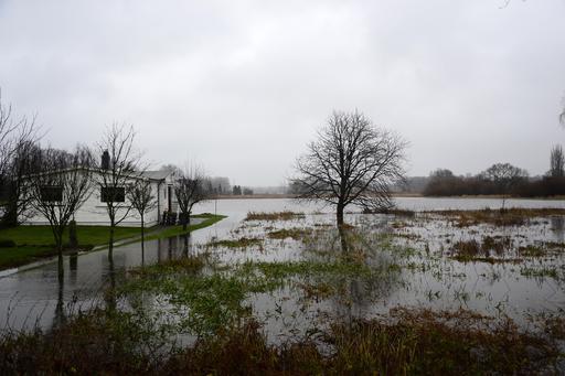 Inondations en Allemagne le 24 décembre