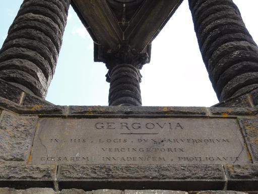 Inscription en latin de Gergovie