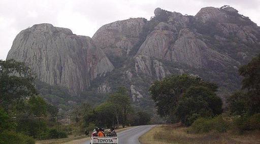 Inselberg de Masvingo au Zimbawe