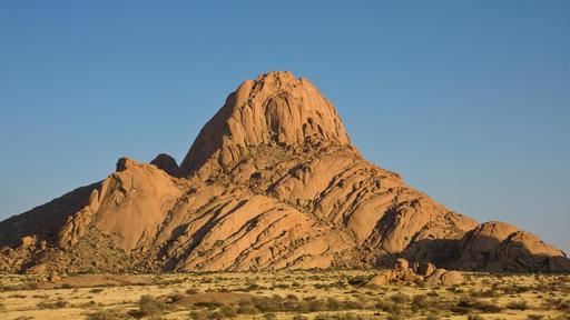 Inselberg de Spitzkoppe en Namibie