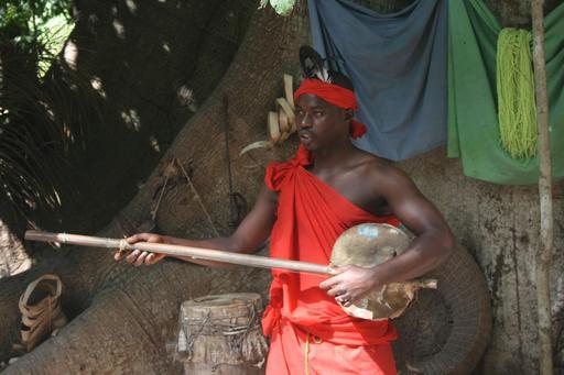 Instrument de musique en Casamance