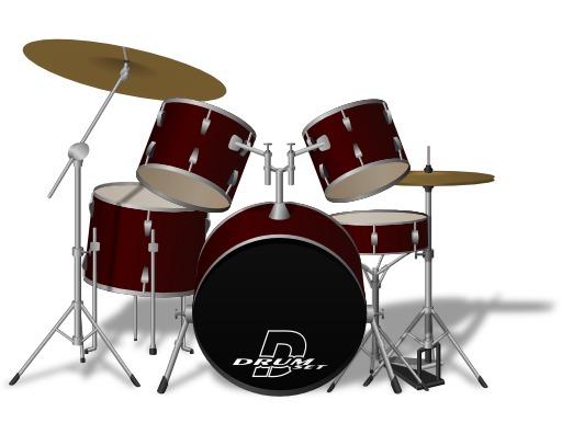 Instruments à percussion : Batterie