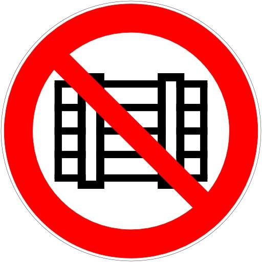 Interdiction de déposer ou d'entreposer