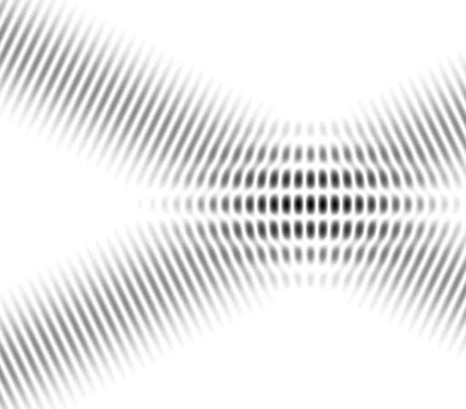 Interférences d'ondes planes