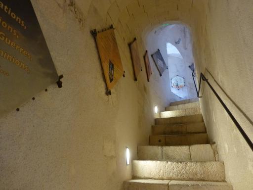 Intérieur de la tour de la Chaîne à La Rochelle