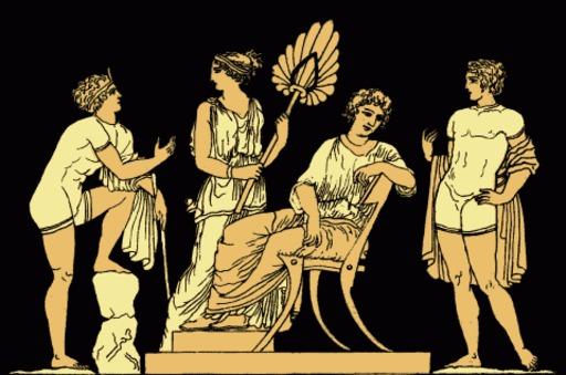 Iphigénie et Oreste