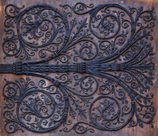Pentures de fer forgé de Notre-Dame de Paris
