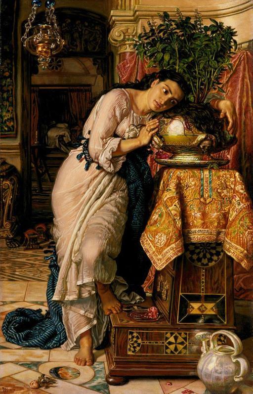 Isabella et le pot de basilic