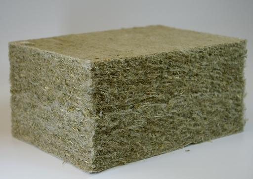 Isolation en fibres de chanvre