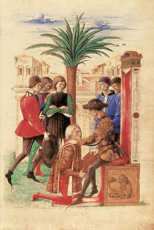 Jacopo Antonio Marcello et René d'Anjou en 1459