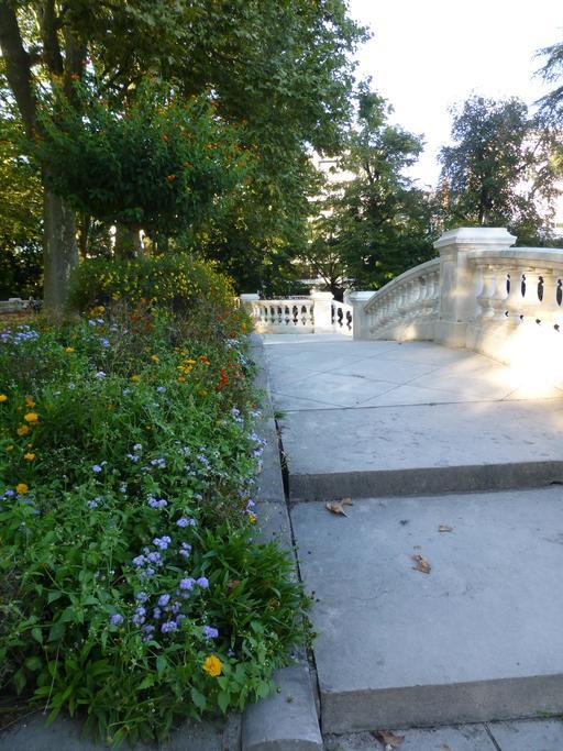 Jardin Darcy à Dijon