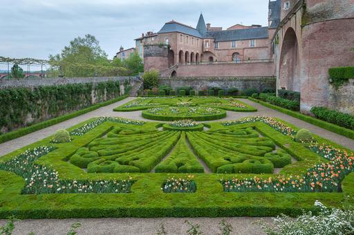 Jardin du Palais de la Berbie à Albi