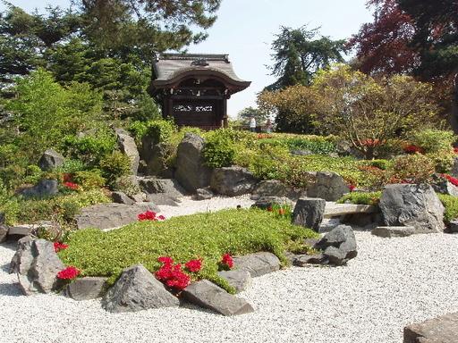 Jardin japonais des Kew Gardens à Londres