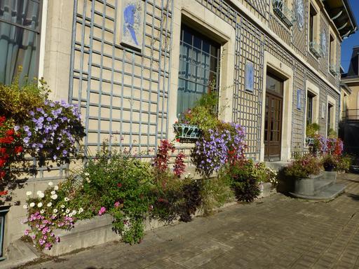 Jardinières d'automne au musée de l'école de Nancy
