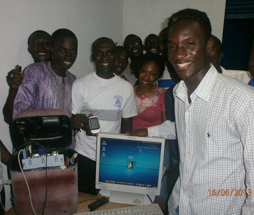 Jerry Marathon à Bouaké