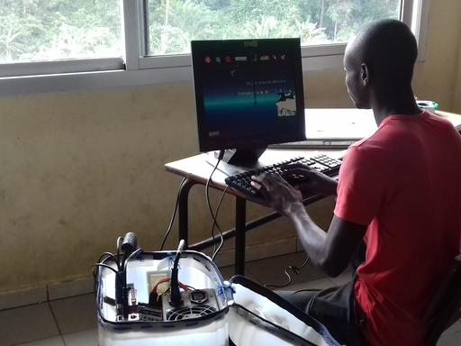 Jerry Marathon de l'UNA d'Abidjan en 2016