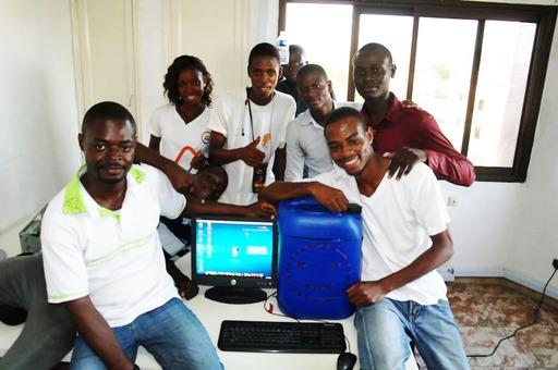 Jerry Workshop au Bénin en 2014