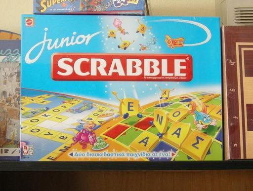 Jeu de scrabble junior