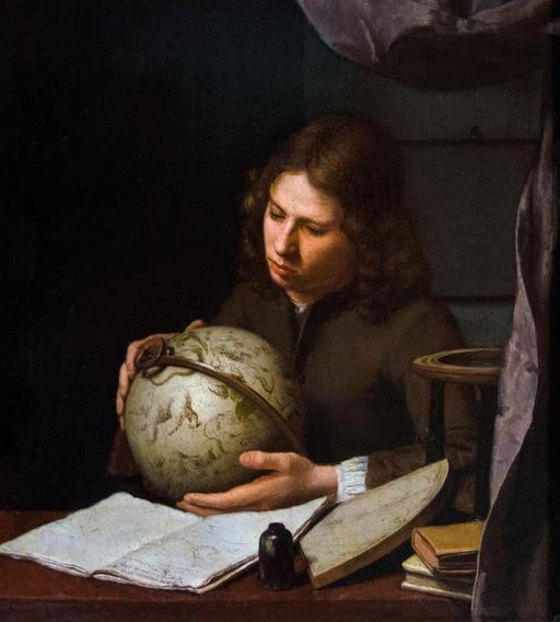 Jeune astronome en 1685