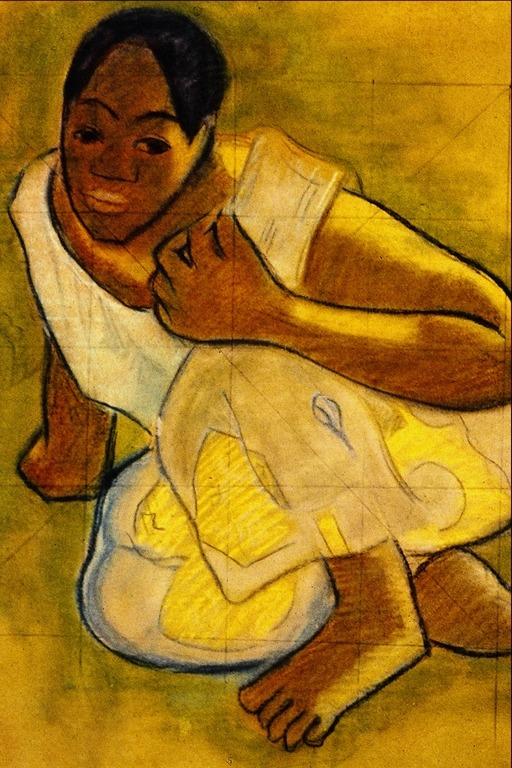 Jeune tahitienne