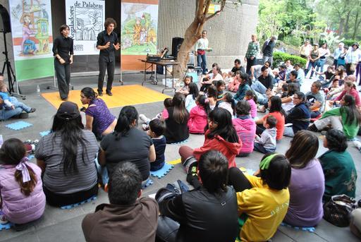 Jeunes conteurs espagnols