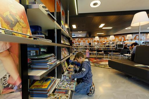 Jeunes lecteurs de BD