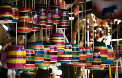Jouets traditionnels mexicains suspendus