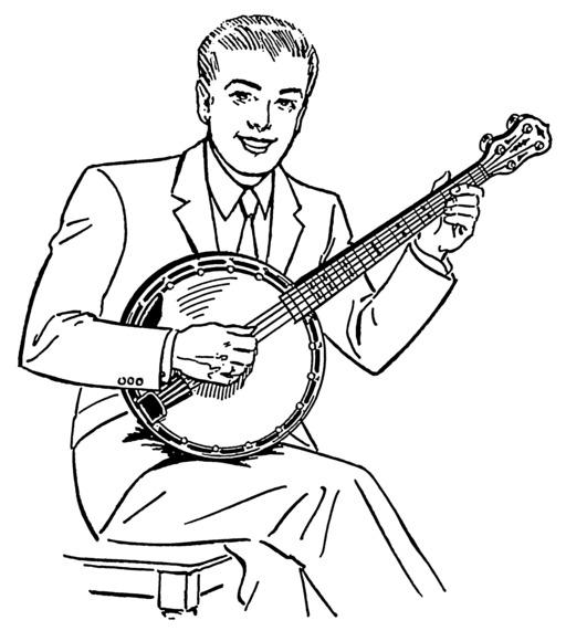Joueur de banjo