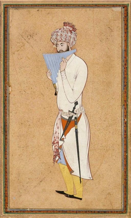 Joueur de flûte de Pan vers 1595