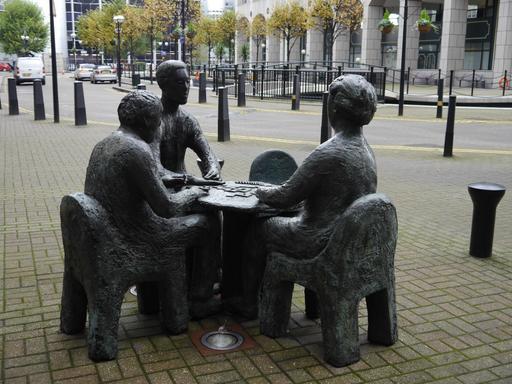 Joueurs de domino