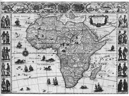 L'Afrique en 1648