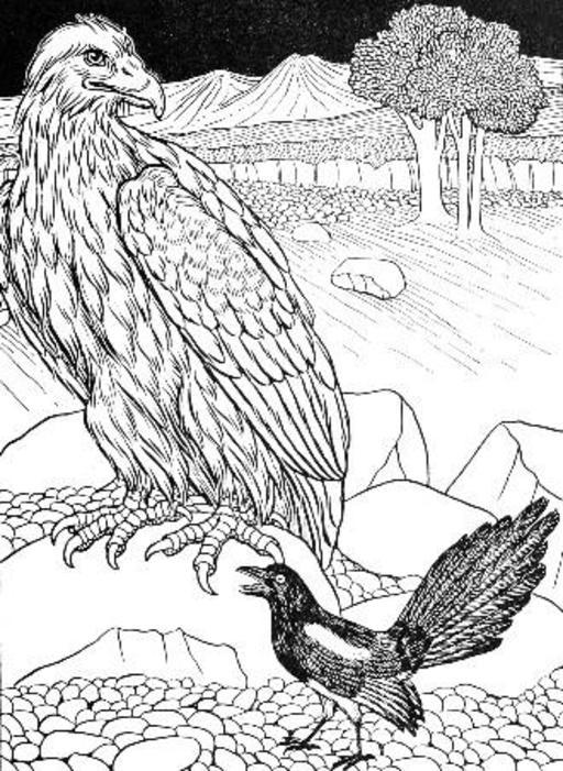 L'Aigle et la Pie