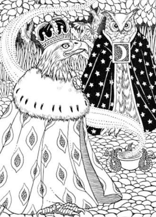 L'Aigle et le Hibou