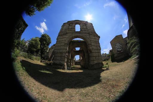 L'amphithéâtre de Burdigala