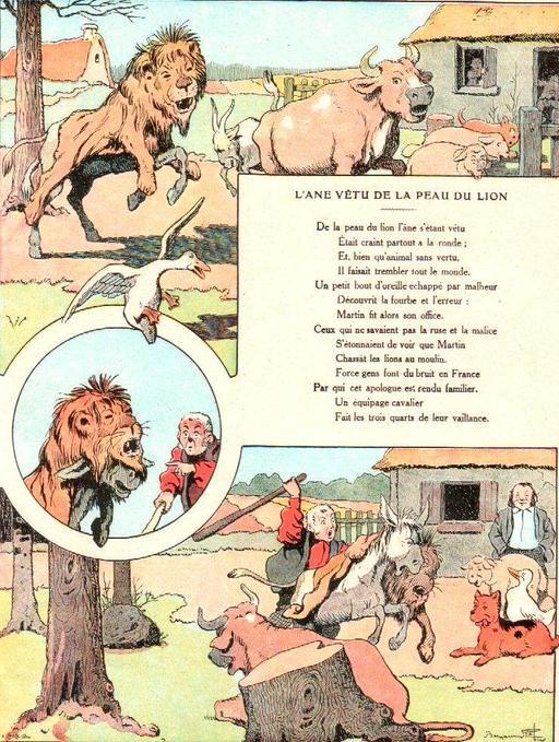 L'âne vêtu de la peau du lion