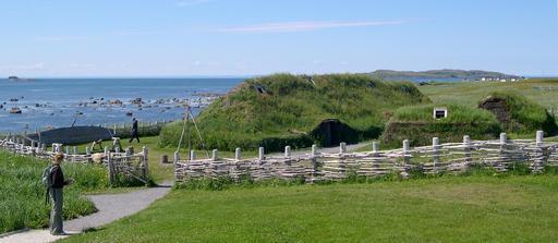 L'Anse aux Meadows au Canada