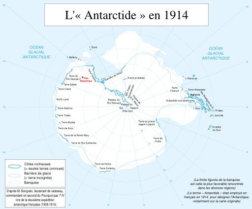 L'Antarctique en 1914