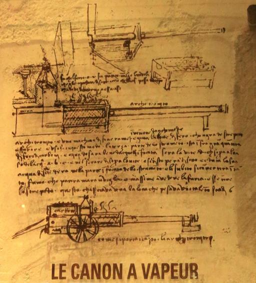 L'architonnerre de Léonard de Vinci
